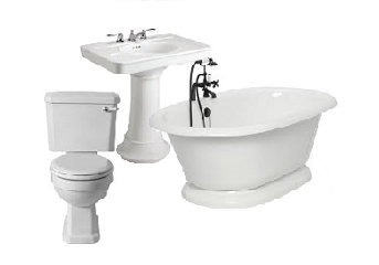 Plumbing Fixtures - Sinks, Tubs, Showers, and Toilets